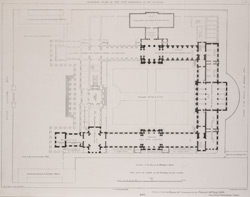 General plan of the new buildings of the Museum